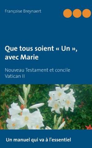 Carte Que tous soient Un, avec Marie Françoise Breynaert