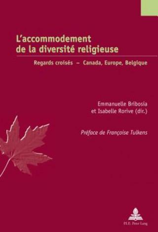 Carte L'Accommodement de la Diversite Religieuse Emmanuelle Bribosia