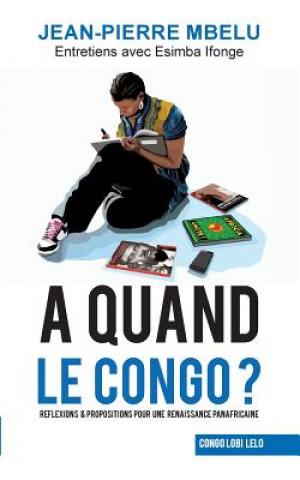 Carte quand le Congo? Jean-Pierre Mbelu