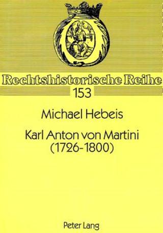 Karl Anton von Martini (1726-1800)