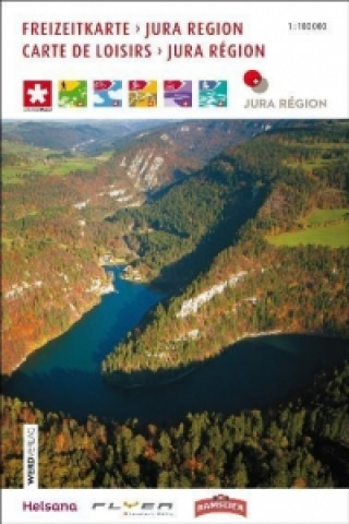 Materiale tipărite Jura Region / Carte de Loisirs Jura Région Freizeitkarte 1 : 100 000 J3L