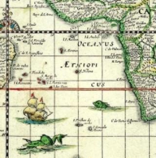 Historische WELTKARTE 1635 - Willem Janszoon Blaeu (Plano)