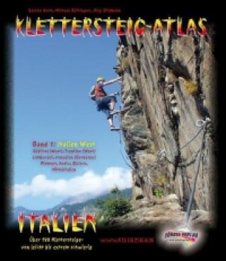 Kniha Klettersteig-Atlas Italien 01 Sascha Hoch