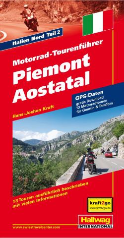 Motorrad-Tourenführer Piemont / Aostatal