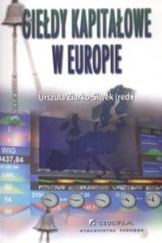 Gieldy kapitalowe w Europie