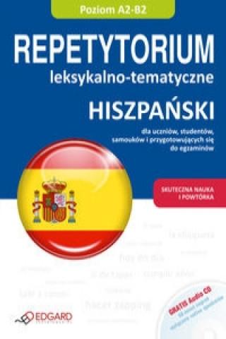 Hiszpanski Repetytorium leksykalno tematyczne z plyta CD