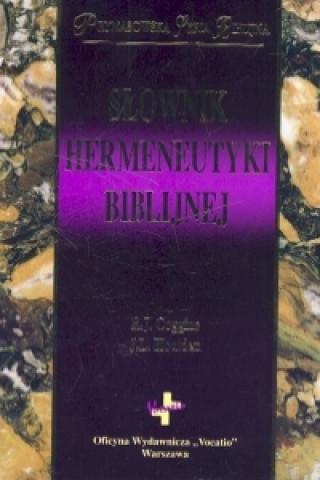 Slownik hermeneutyki biblijnej