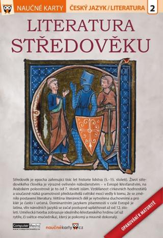 Naučné karty Literatura středověku