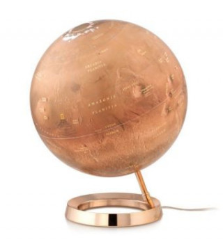 Materiale tipărite National Geographic Red Planet Leuchtglobus, Gestell Acrylglas National Geographic Society