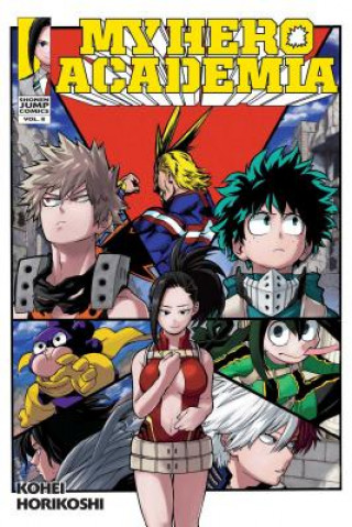 Carte My Hero Academia, Vol. 8 Kohei Horikoshi