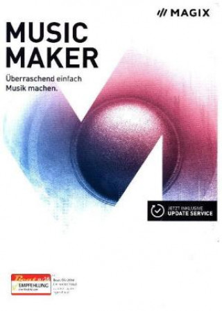 MAGIX Music Maker 2017, 1 DVD-ROM