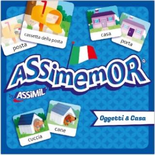 Joc / Jucărie ASSiMEMOR Oggetti & Casa (Objekte & Haus)