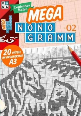 Mega-Nonogramm, 20 Bände. Bd.2