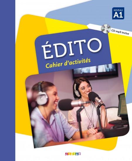 Kniha Édito A1 pracovní sešit Élodie Heu