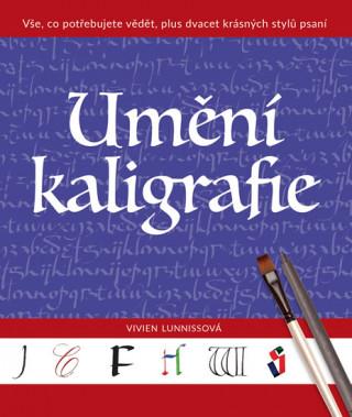 Kniha Umění kaligrafie Vivien Lunniss