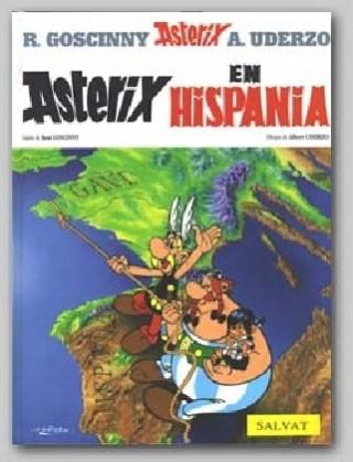 Carte Asterix in Spanish Rene Goscinny