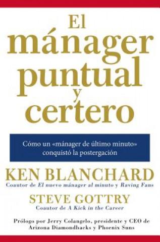 Kniha manager puntual y certero Ken Blanchard