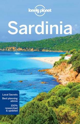 Carte Lonely Planet Sardinia Gregor Clark