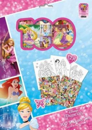 100 Stickers Set Princezny