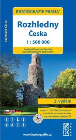 Rozhledny Česka 1:500000