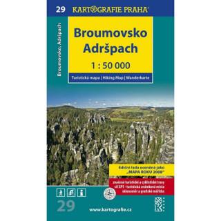 Broumovsko, Adršpach 1:50 000