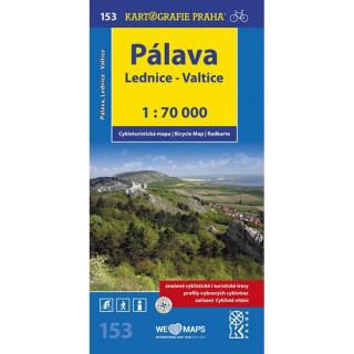 Pálava, Lednice-Valtice 1:70 000