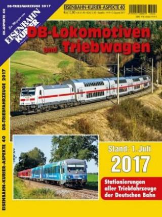 DB-Lokomotiven und Triebwagen - Stand 1. Juli 2017