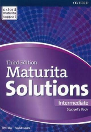 Könyv Maturita Solutions 3rd Edition Intermediate Student's Book Tim Falla