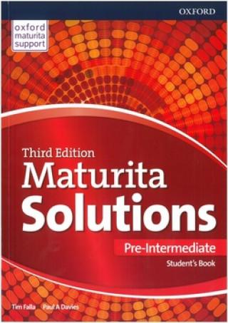 Carte Maturita Solutions 3rd Edition Pre-Intermediate Student's Book Tim Falla
