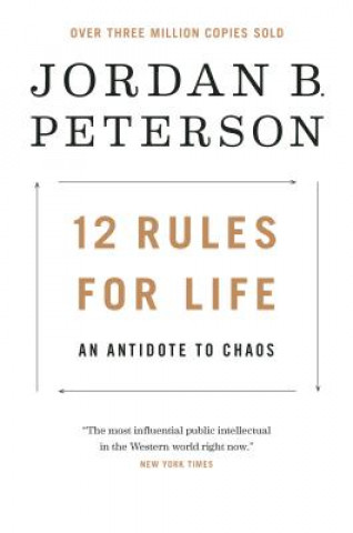 Carte 12 Rules for Life Jordan Peterson