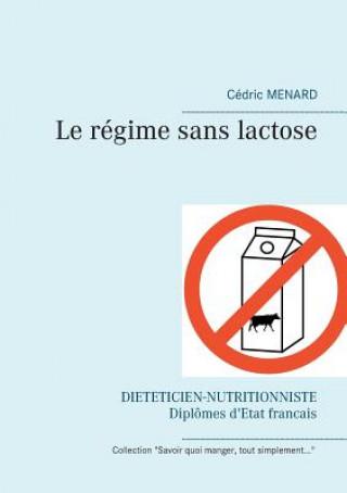 Carte regime sans lactose Cédric Menard