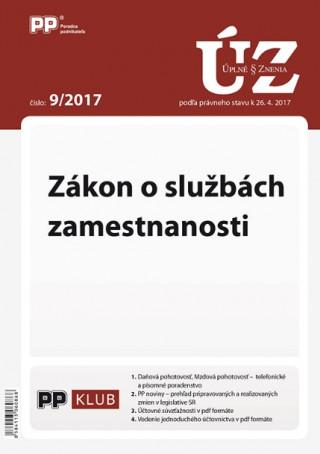 UZZ 9/2017 Zákon o službách zamestnanosti