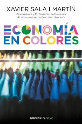 Carte Economía En Colores / Economics in Colors Xavier Sala I. Martin
