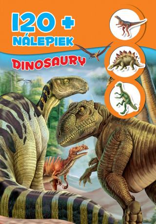 Dinosaury + 120 nálepiek