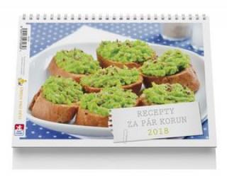 Recepty za pár korun - stolní kalendář
