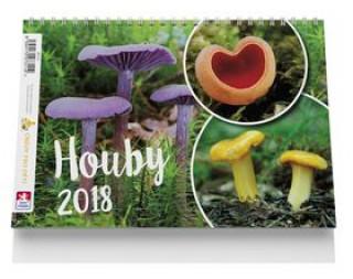 Houby - stolní kalendář