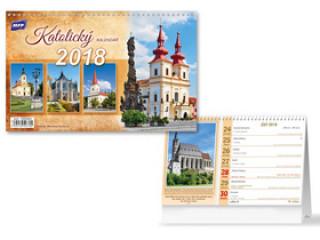 Katolický 2018 - stolní kalendář