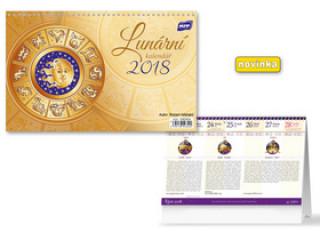 Lunární 2018 - stolní kalendář