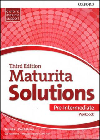 Carte Maturita Solutions 3rd Edition Pre-Intermediate Workbook Czech Edition Paul A.
