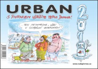 Urban S pivrncem udržíte teplo domova! 2018 - stolní kalendář
