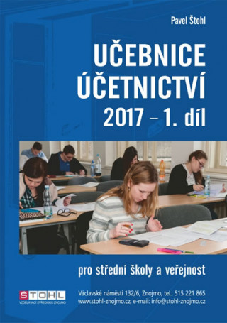 Učebnice Účetnictví I. díl 2017