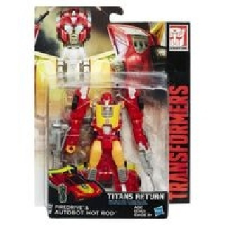 Transformers Titans Return Firedrive & Hot Rod