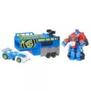 Transformers Optimus Prime wyścigowy truck