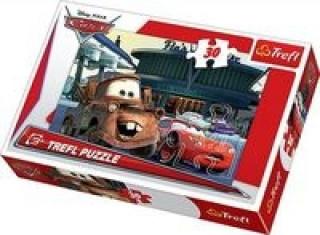 Puzzle 30 Auta Na stacji benzynowej