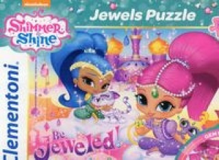 Puzzle z ozdobami 104 Shimmer and Shine