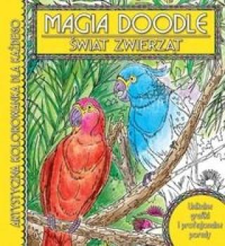 Świat Zwierząt Magia doodle