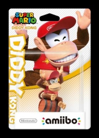 Nintendo amiibo SuperMario Diddy Kong, 1 Figur