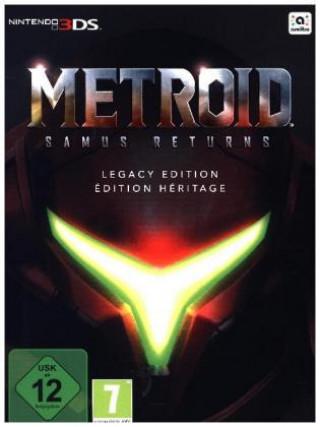 3DS Metroid: Samus Returns Legacy Edition