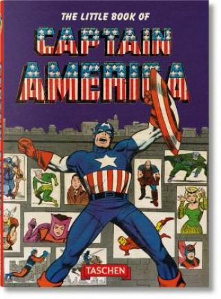 Carte The Little Book of Captain America Roy Thomas