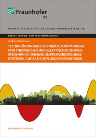 Techno-ökonomische Strukturoptimierung von thermischen und elektrischen Energiespeichern in urbanen Energieversorgungssystemen auf Basis von Geoinform